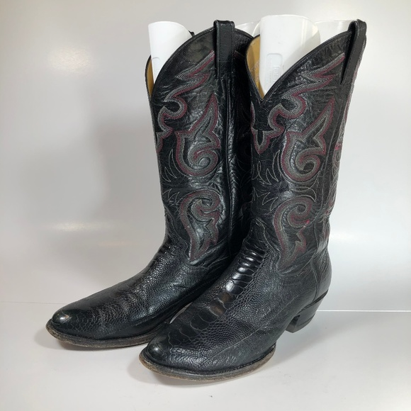 Panhandle Slim Other - Panhandle Slim Cowboy Boots Snakeskin Leather